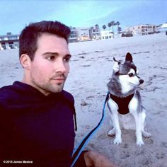 Watching the waves. View more James Maslow on WhoSay James Maslow, Shia Labeouf, Big Time Rush, Logan Lerman, Amanda Seyfried, Cbs Big Brother, Selfies, Star Wars, Best Friends For Life