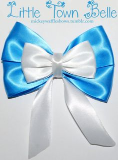 Little Town Belle Hair Bow. $6.00, via Etsy.