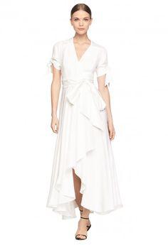 LINEN VALERIE DRESS | MILLY