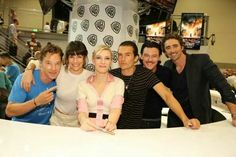 Benedict Cumberbatch, Evangeline Lily, Cate  Blanchette, Orlando Bloom, Luke Evans, and Lee Pace at ComicCon!