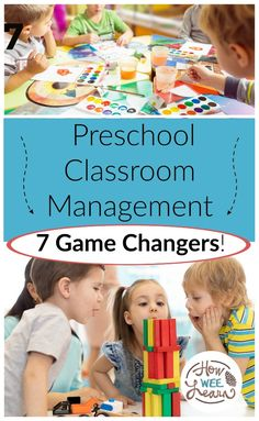 These are the best 7 ideas for preschool classroom management that promote positive behaviour! If you are an early childhood educator or a new teacher you need to check out these tips!
