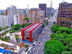 The Sao Paulo Museum of Art by Architect Lina Bo Bardi