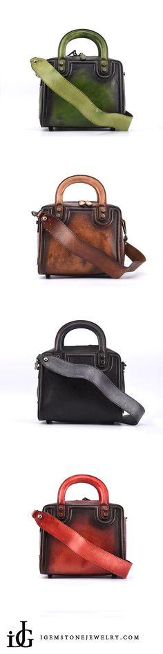 26850e6b5d8f85 Cool Leather Women Cube Bag Leather Handbags Crossbody Bags for Women  Schultertaschen, Lederhandtaschen, Ledertasche