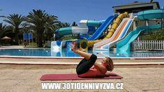 30ti denní výzva - 5 ověřených cviků pro břicho snů Body Fitness, Health Fitness, 30 Day Challenge, Challenges, Challenge 30 Days, Fitness, Health And Fitness