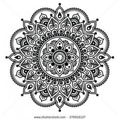 asian indian tattoo designs - Google Search