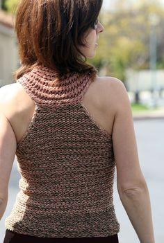 knit - racerback