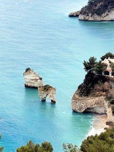 Baia delle zagare,Italy