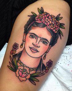 Lleva tu admiración a otro nivel e inspírate con estos 14 tatuajes de Frida Kahlo - IMujer