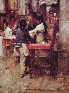 Indian Market, oil