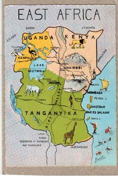kenia,tansania,uganda,ethiopien,nigeria,zambia,sued africa,botswana.