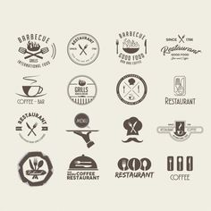 Restaurant logo design. Download thousands of free vectors on Freepik, the finder with more than a million free graphic resources