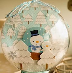 "We are excited to feature two amazing ideas today on the blog featuring "" Snow Globes "". Both Sharm and Amanda created a couple of darling p..."