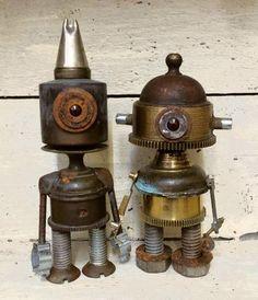 *( ͡ ͡° ͜ ͡ ͡°  )*         2 little robots sitting in a ?...well not a ? time out