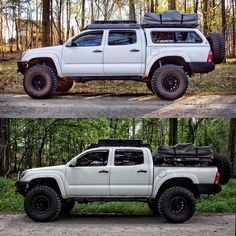 "4,382 Likes, 212 Comments - Thomas Caldwell (@tcaldwell92) on Instagram: ""Which setup do you prefer? Camper shell or bed rails. I love both! The thing is, both have pros and…"""