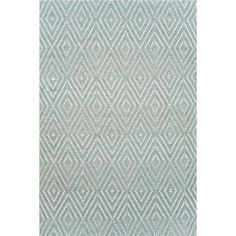 Concentric Diamond Indoor Outdoor Rug