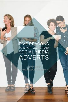 5 Reasons to Consider Paid Advertising on Social Media Advertising Strategies, Digital Marketing Strategy, Online Marketing, Digital Review, Brand Advertising, Social Media Images, Seo, Improve Yourself, Web Design