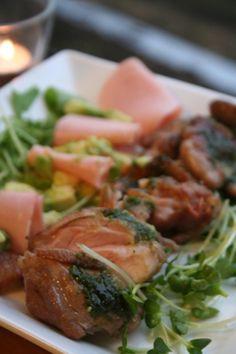 ヘルシー美味しい「バジルチキンサラダ」|レシピブログ