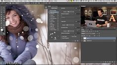 """""""Winter is around the corner and festive photography projects are something to look forward to. Keeping with the change of seasons, you may be preparing your Christmas card photos, or just want to add some wintery flair to images you already have, and might I suggest considering adding snow…in Photoshop. """"  How To Create Snow In Photoshop"""