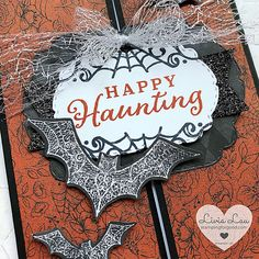 Halloween Cards, Scary Halloween, Stampin Up Canada, Card Maker, The Creator, About Me Blog, Paper Crafts, Handmade, Hand Made