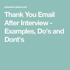 How To Write A Strong Follow Up Email After Your Job Interview
