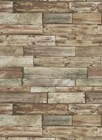 Sample Repurposed Wood Weathered Textured Self Adhesive Wallpaper by T – BURKE DECOR