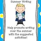 Want your encourage your students to write over the summer? This is a great resource to give to your parents at the end of the school year. ...