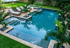 Having a pool sounds awesome especially if you are working with the best backyard pool landscaping ideas there is. How you design a proper backyard with a pool matters. Swimming Pool Landscaping, Luxury Swimming Pools, Luxury Pools, Dream Pools, Swimming Pool Designs, Landscaping Ideas, Garden Landscaping, Backyard Pool Designs, Small Backyard Pools