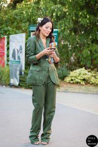 STYLE DU MONDE / Haute Couture Fall 2015 Street Style: Tina Leung  // #Fashion, #FashionBlog, #FashionBlogger, #Ootd, #OutfitOfTheDay, #StreetStyle, #Style