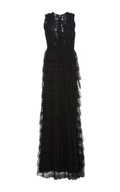 Penelope Guipure Lace Gown by HOUGHTON for Preorder on Moda Operandi