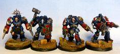 Crimson Fists, Space Marines, Terminator Armor