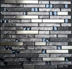 Hominter offers a large selection of stainless steel glass diamond metallic backsplash grey metal tile kitchen mosaic wall that looks and durability at an affordable price. You will be sure to find one that's perfect for your home project.