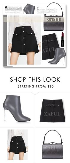 """ZAFUL"" by elly-852 ❤ liked on Polyvore featuring Balenciaga and Smashbox"