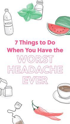 Home Health, Health Diet, Wellness Fitness, Health Fitness, Diy Beauty Treatments, Headache Remedies, Alternative Health, Health Advice, Health And Wellbeing