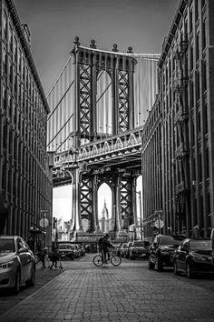 Dumbo, Brooklyn - NYC New York City Travel Honeymoon Backpack Backpacking Vacation Ponte Do Brooklyn, Brooklyn New York, Brooklyn City, Dumbo Brooklyn Bridge, Photo New York, New York City Photos, Photographie New York, Ville New York, Voyage New York