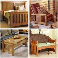 Build Mission and Craftsman Style Furniture for every room in your home. Get help from beautiful designs and DIY woodwork plans from WOOD Magazine.