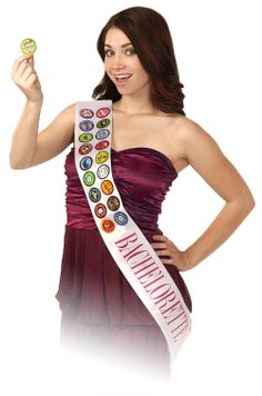 Burnsy Badges the hilarious wearable party game for the bachelorette!!