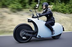 A Hideous-Beautiful Electric Motorcycle Inspired by Drug Use   Autopia   WIRED