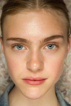 Giambattista Valli   Fall 2014 Couture   Makeup