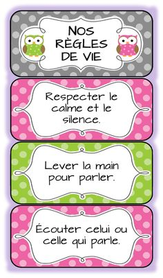 Classroom rules in French French Teaching Resources, Teaching French, Teaching Tools, Teaching Ideas, French Classroom, Classroom Rules, Classroom Organization, Classroom Ideas, Behaviour Management