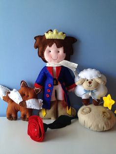 the little prince made from felt