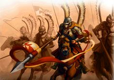Charge of the Polish Winged Hussars Modern Warfare, Drawing Poses, Renaissance, Medieval, Military, Drawings, Ottoman, Art, War