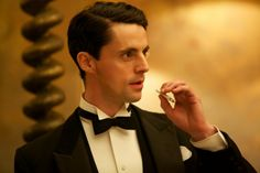 British Actor Matthew Goode in the role of Stanley in the BBC's major new 1930s costume drama - Dancing On The Edge.