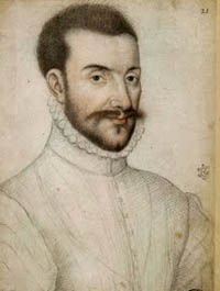 Sketch of Emanuele Filiberto, Duke of Savoy. By Francois Clouet, 1559.