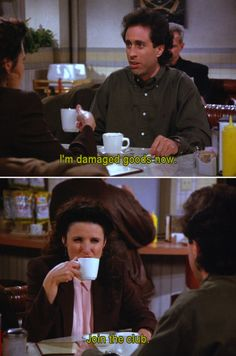 Seinfeld quotes about dating an ex