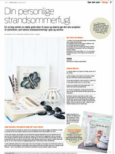 article from Jyllands-Posten about my DIY book. Design Blog - DIY - Home Garden and Living inspiration - Peekaboo Design