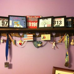 My first year of running bibs. :-)