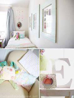 Love these ideas for Leigha's big girl room someday!