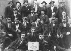 Emigranti in Germania della Società di Mutuo Soccorso, primo dopoguerra