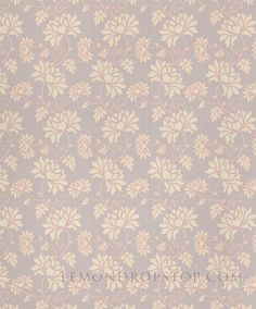 LemonDrop Stop White Pink Floral on Grey | Vinyl Photography Backdrops | LemonDrop Stop Photography Backdrops and FloorDrops