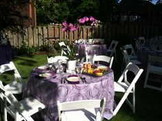 Beautiful outdoor catering